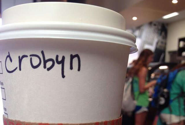 23 more hilariously misspelled names on Starbucks coffee cups