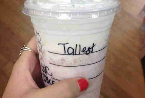 Misspelled Starbucks Hollis