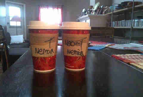 Misspelled Starbucks Naomi