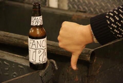 IPA thumbs down