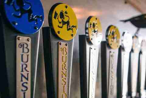Burnside brewing taps