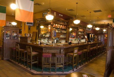 Keegan's Irish Pub interior