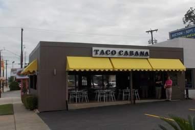 taco cabana old appearance