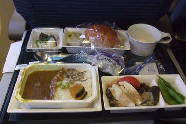 Gross airplane meal