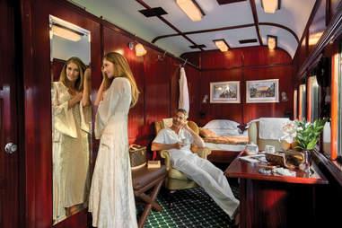 royal suite, safari train