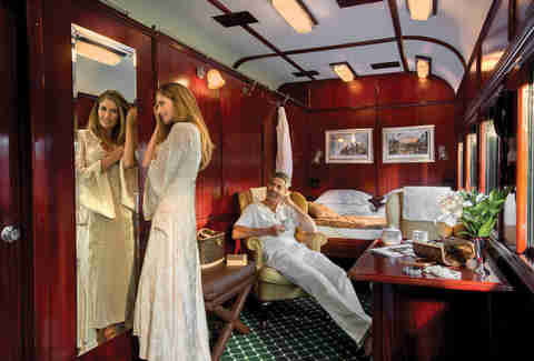 royal suite, safari train