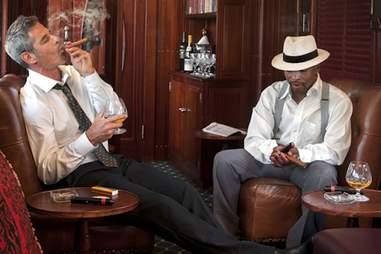 cigar car on the safari train