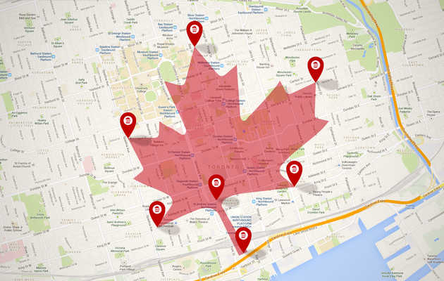 Maple Leaf bar crawl