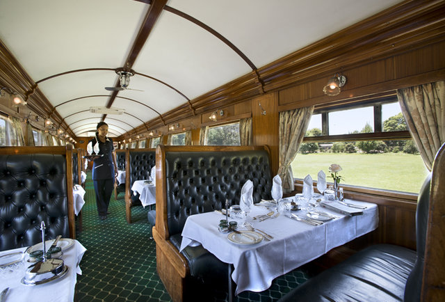 Pack a tux for the most luxurious train safari ever