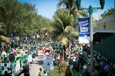 Delray Beach St. Patrick's Day Parade