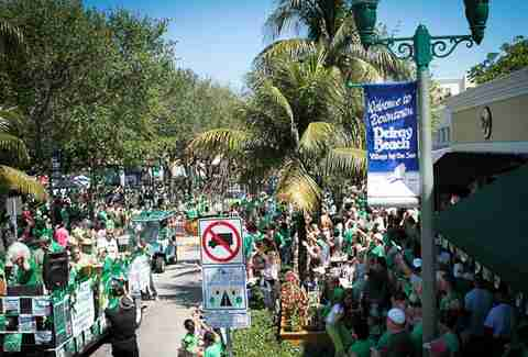 Delray Beach St. Patrick's Day Parade