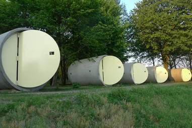 sewage pipe rooms