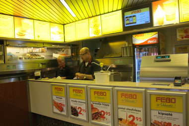 Power-ranking FEBO's wall of food