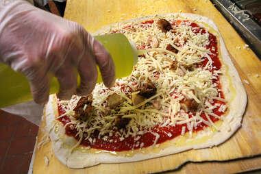 Piece Honey Butter Fried chicken Pizza