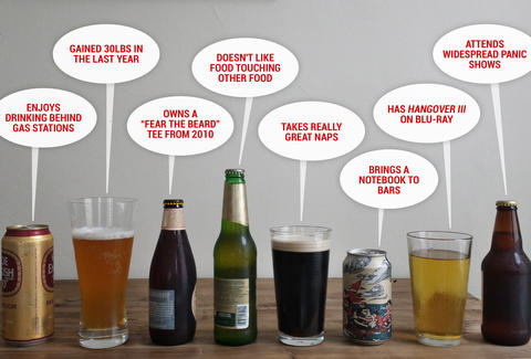 What your beer says about you thrillist what your beer says about you freerunsca Image collections