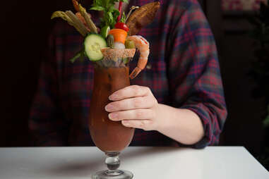 bloody mary at manhattan