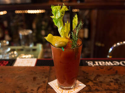 bloody mary at hattie's