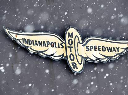 Motor Speedway sign