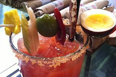 Bloody mary at olympic provisions
