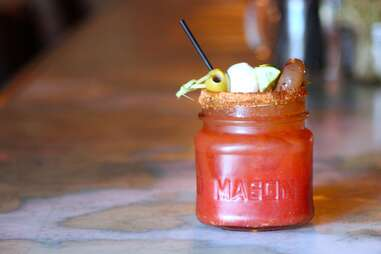 bloody mary at Anchors Down