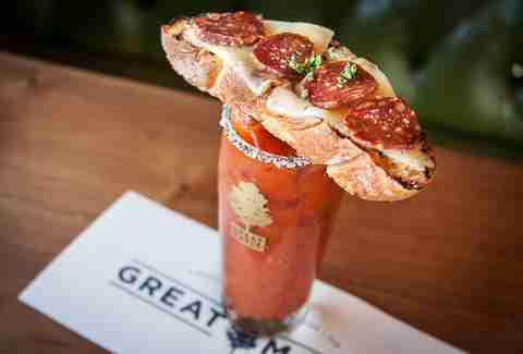 Johnny's Hangover Mary Best Hangover Cures SD