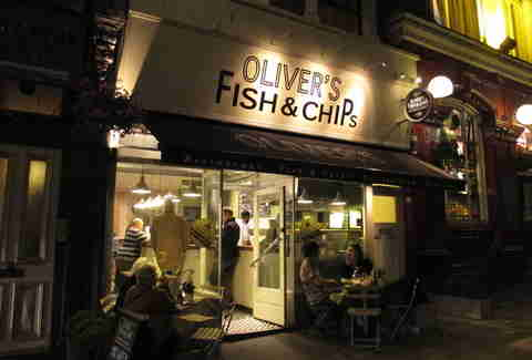 London's best fish & chips