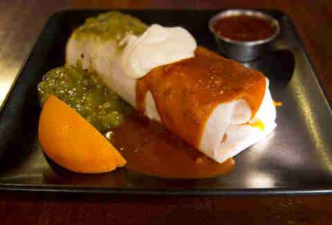 Green Chile Burrito