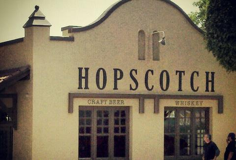 exterior of hopscotch in fullerton california restaurant