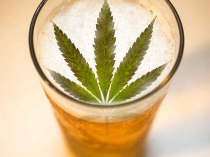 weed beer