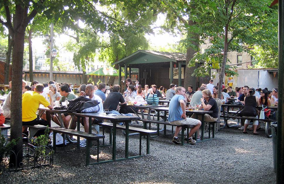 bohemian hall beer garden a new york ny bar