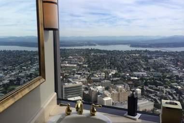 Columbia Tower bathroom