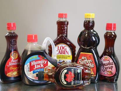 pancake syrups
