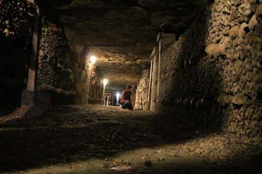 catacombs passageway
