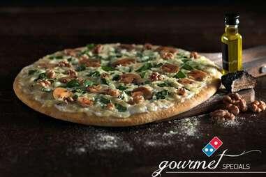 Domino's Tartufo pizza