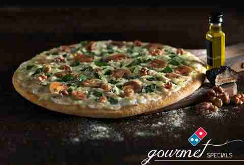 Domino's Tartufo pizza