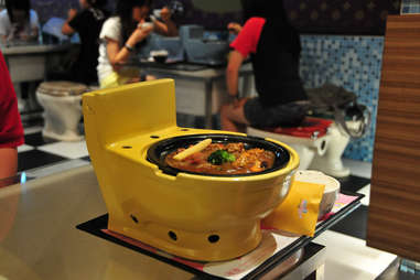 Meal at Modern Toilet
