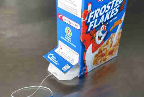 Frosted Flakes teabag