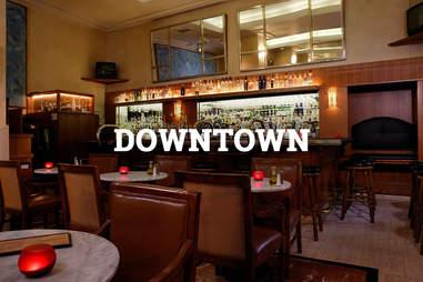 The Heathman Hotel bar