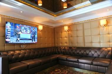 VIP room at E11even Miami