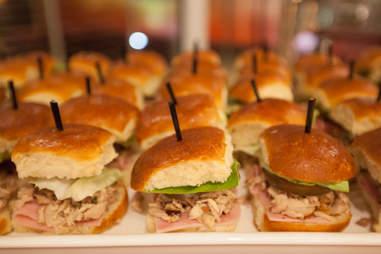 Happy Hour sandwiches at E11even Miami