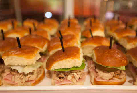 Happy Hour sandwiches at E11even Miami