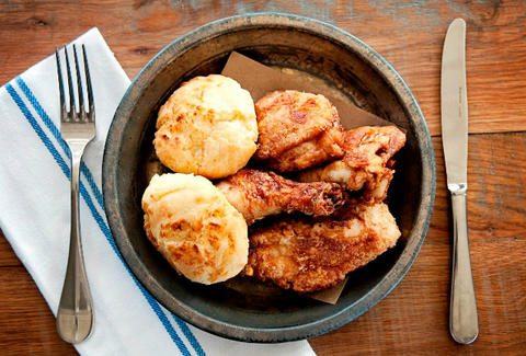 fried chicken at watershed
