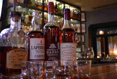 Nickel and Rye 12 best places to drink whiskey DAL