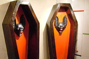 coffin urinal
