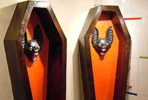 coffin urinal