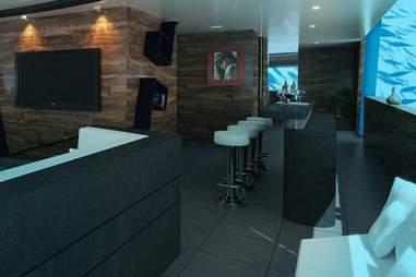 Submarine interior bar