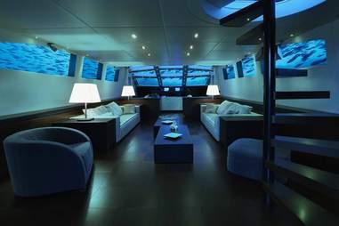 submarine living room
