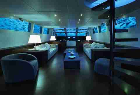 submarine living room
