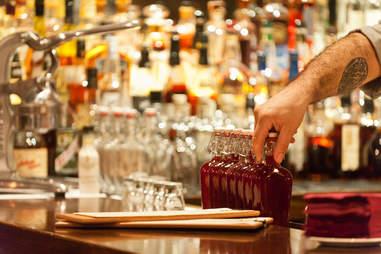 Saloon bar in Boston
