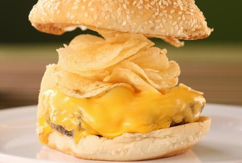 potato chip burger